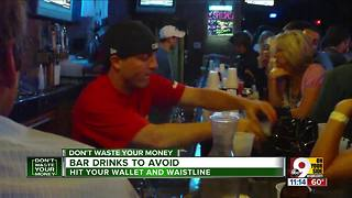 Going out for drinks? Here's drinks to avoid - Video