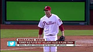 Former MLB pitcher Roy Halladay killed in plane crash - Video