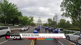 Local officers to pedal to D.C. to raise money for fallen police officers