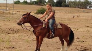 A Woman Gets Thrown Off A Horse - Video