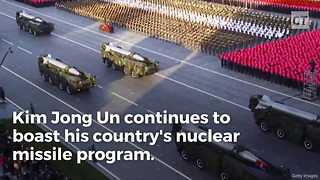 Report: NK Launches Missile, Accidentally Hits Unintended Target - Video