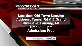 Around Town 6/6/18: old Town Riverbash - Video