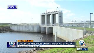 Gov. Scott announces completion of water project in Loxahatchee - Video