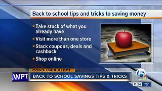Back to school savings tips & tricks - Video