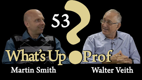 Walter Veith & Martin Smith - Is Walter Veith a Freemason? What about EG White? - What's Up Prof? 53