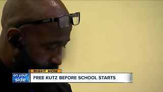 Free back-to-school haircuts mean a lot in Cleveland neighborhood - Video