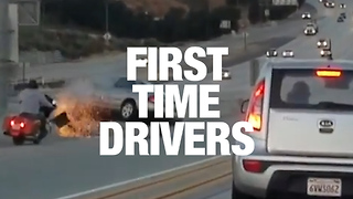First Time Driver Fails - Video