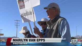 Sonoita residents protest the construction of a Dollar General in their town - Video