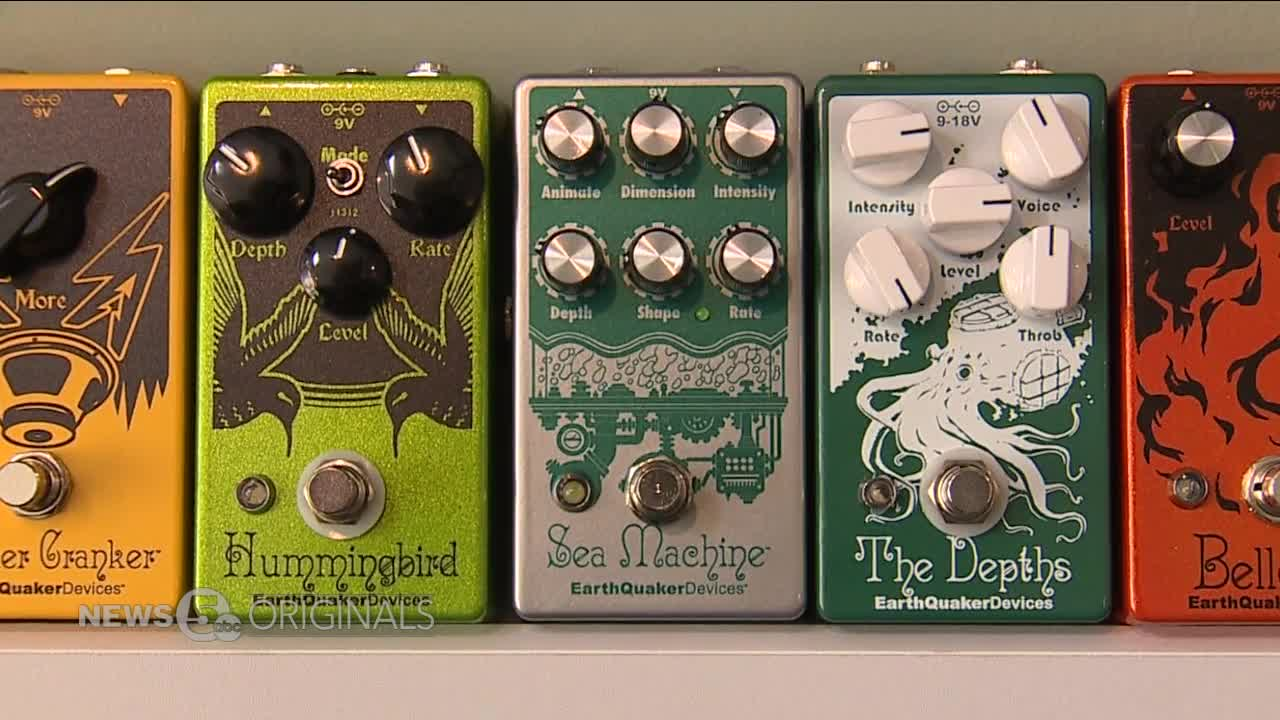 Buckeye Built: Akron's EarthQuaker Devices makes waves in global music industry