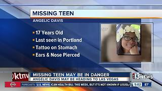 Missing teen may be in danger - Video