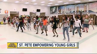 St. Petersburg empowering young women with girls conference - Video
