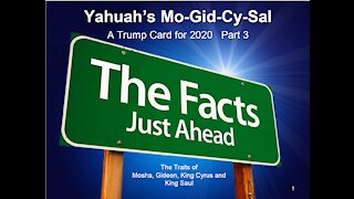 Yahuah's Mo-Gid-Cy-Sal A Trump Card for 2020 - Part 3