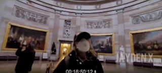 Video Reportedly Shows Journalist With BLM Activist Inside Capitol During Riot