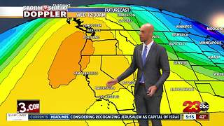 Monday Morning Weather Update 12/04/17 - Video