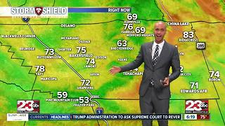 Humidity and rain chances return to Kern County! - Video