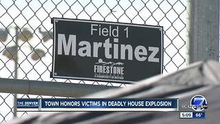 Town honors victims in deadly Firestone house explosion