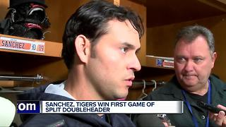 Sanchez solid as Tigers win first game of split doubleheader - Video