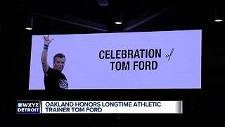 Friends, former players celebrate Oakland's Tom Ford - Video