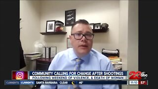 Developing Story: Community calling for change after shootings