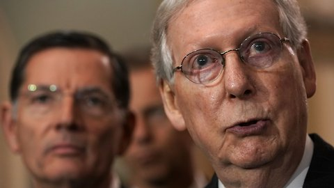 Mitch McConnell Blocks Bill Protecting Robert Mueller's Investigation