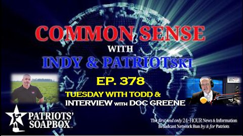 Ep. 378 Tuesday With Todd & Interview With Doc Greene