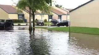 Days of Heavy Rain Leave Areas of South Florida Underwater - Video
