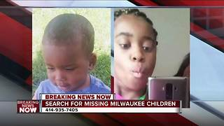 Milwaukee police looking for 2 missing children