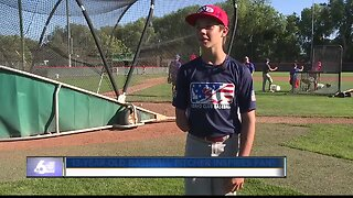 Nampa teen strikes out competitors, inspires fans