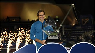 Roger Federer Wins 100th Career Title