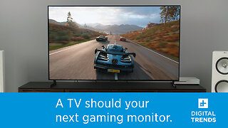 Why a TV should be your next gaming monitor