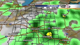 Slight chance Tuesday T'Storms. - Video