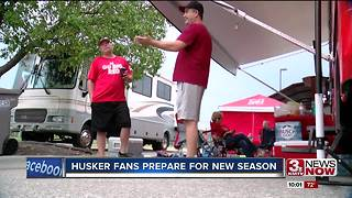 Husker fans get ready for Saturday night's game - Video