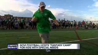 Novi football hosts Fantasy Camp for kids with special needs - Video