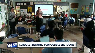 Schools preparing for possible shutdown