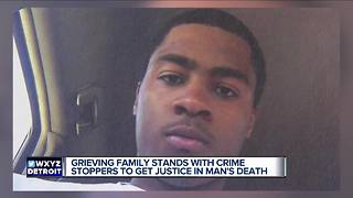 Grieving family stands with Crime Stoppers to get justice