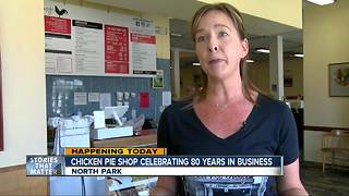 Family-owned Chicken Pie Shop celebrates 80 years in San Diego - Video