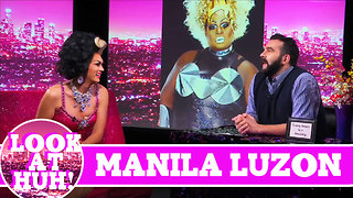Manila Luzon LOOK AT HUH! on Season 2 of Jonny McGovern's Hey Qween! - Video