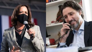 Justin Trudeau & Kamala Harris Had A Phone Call Today & Chatted About Montreal