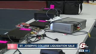 St. Joseph's College holds liquidation sale - Video