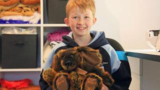 12-Year-Old Starts Stuffed Animal Charity - Video