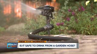 Is drinking from a garden hose safe for children? - Video