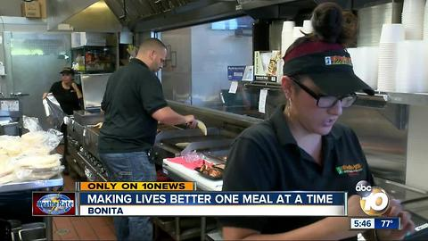 Making lives better one meal at a time