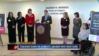 Hillsborough Co. State Attorney announces new push to keep guns away from domestic violence abusers - Video