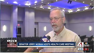 Sen. Jerry Moran hosts town hall meeting - Video
