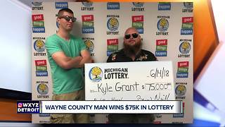 Metro Detroit man wins $75K playing Michigan Lottery game online