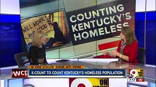 K-count to count Kentucky homeless population - Video