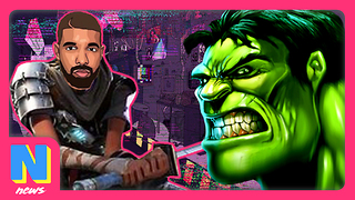 Drake Plays Fortnite And DESTROYS Twitch Record, The Hulk Confirmed Immortal | Nerdwire News - Video