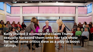 Megyn Kelly Invites Trump Accusers Onto Daytime Talk Show - Video
