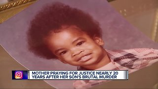 Holiday Heartbreak: Detroit mother praying for justice nearly 20 years after son's brutal murder