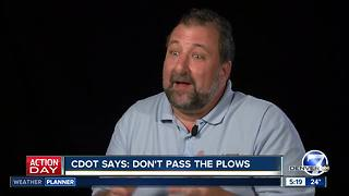 Don't pass the plow - Video